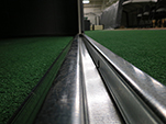 מסילה תחתונה דלת הזזה